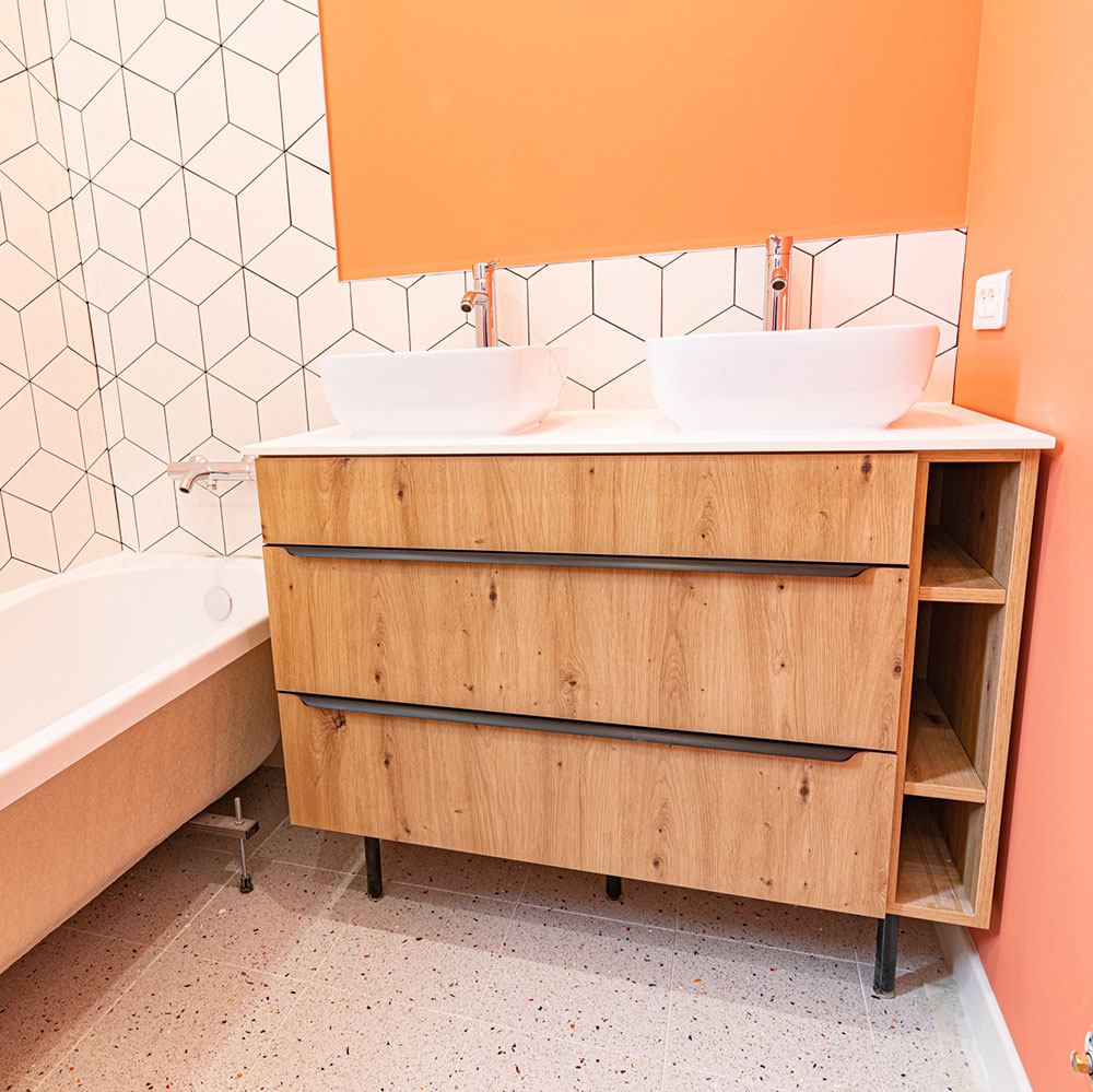 Menuiserie Veyer, salle de bain